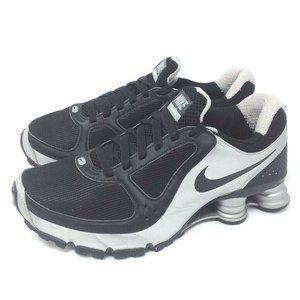 Nike Womens Shox Turbo 10 Running Shoes Black 8